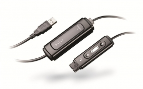DA45 USB to QD Adapter with In-Line Volume & Mute