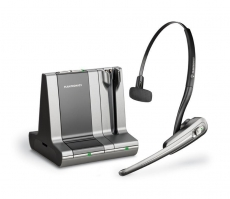 Savi WO100 Wireless Headset - for PC & Desk Phone