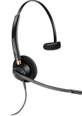EncorePro HW510 Over-The-Head Wideband Monaural Noise-Cancelling Corded Headset